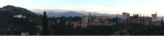 Alhambra desde Plaza San Nicolas